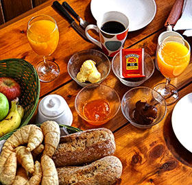 desayuno pueblo rivero